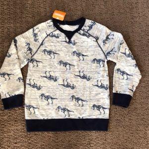 NWT Gymboree Dinosaur Sweatshirt, size M (7-8)